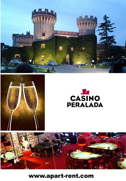 Invitation to the Casino Peralada