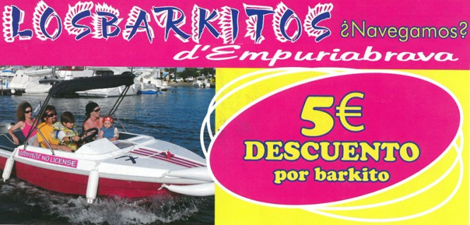 Discount boat rental in Empuriabrava