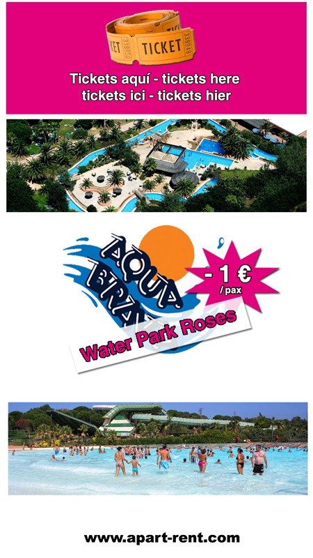 Discount Amusement Park near Empuriabrava. Aquabrava